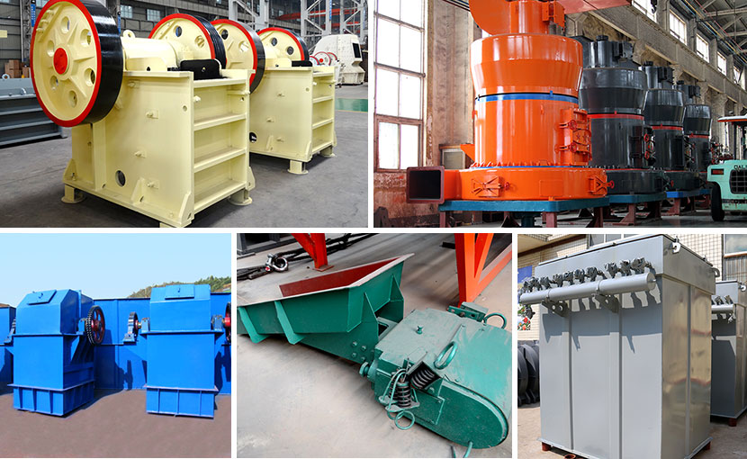 Calcite deep processing production line equipment