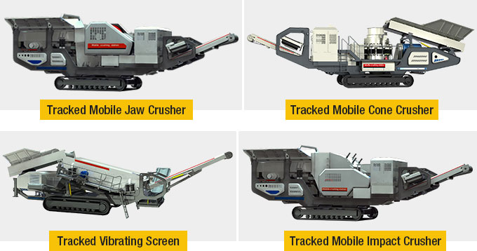 Fote Tracked Mobile Crusher