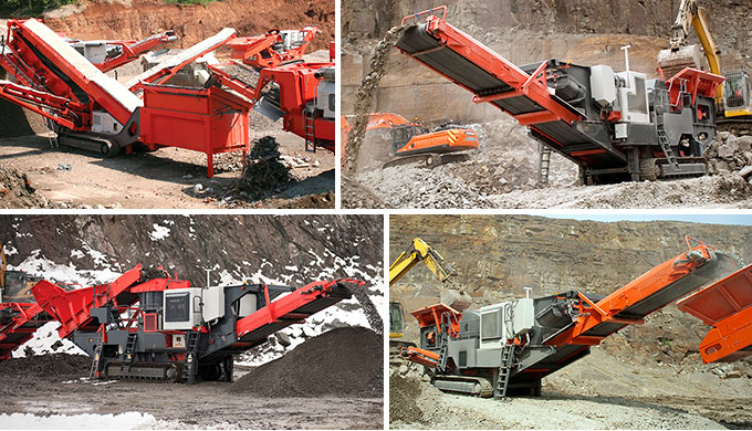 Tracked Mobile Crusher Production Site
